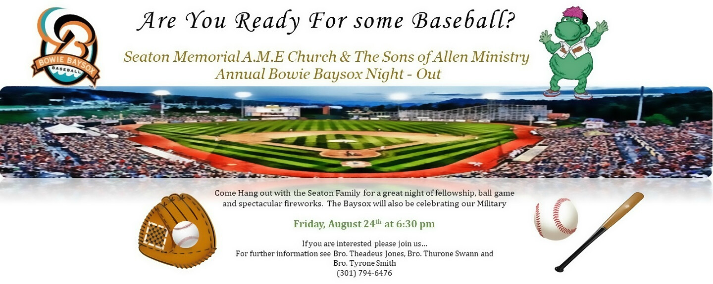 Sons of Allen Baseball Night Out