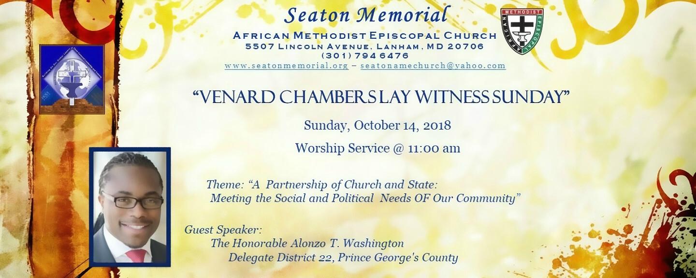 Lay Witness Sunday