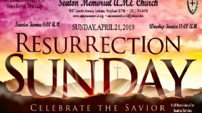 Resurection Sunday Service at 6:00 am and 11:00 am