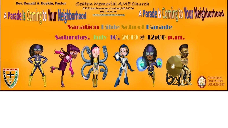 Vacation Bible School Parade