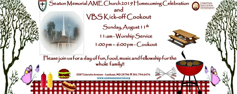 Seaton Memorial AME Church Homecoming 2019 Celebration