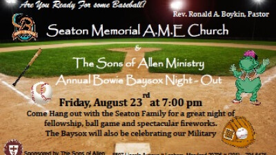 Bowie Baysox Annual Night Out