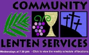 Lenten Service Schedule 2020 - CANCELED
