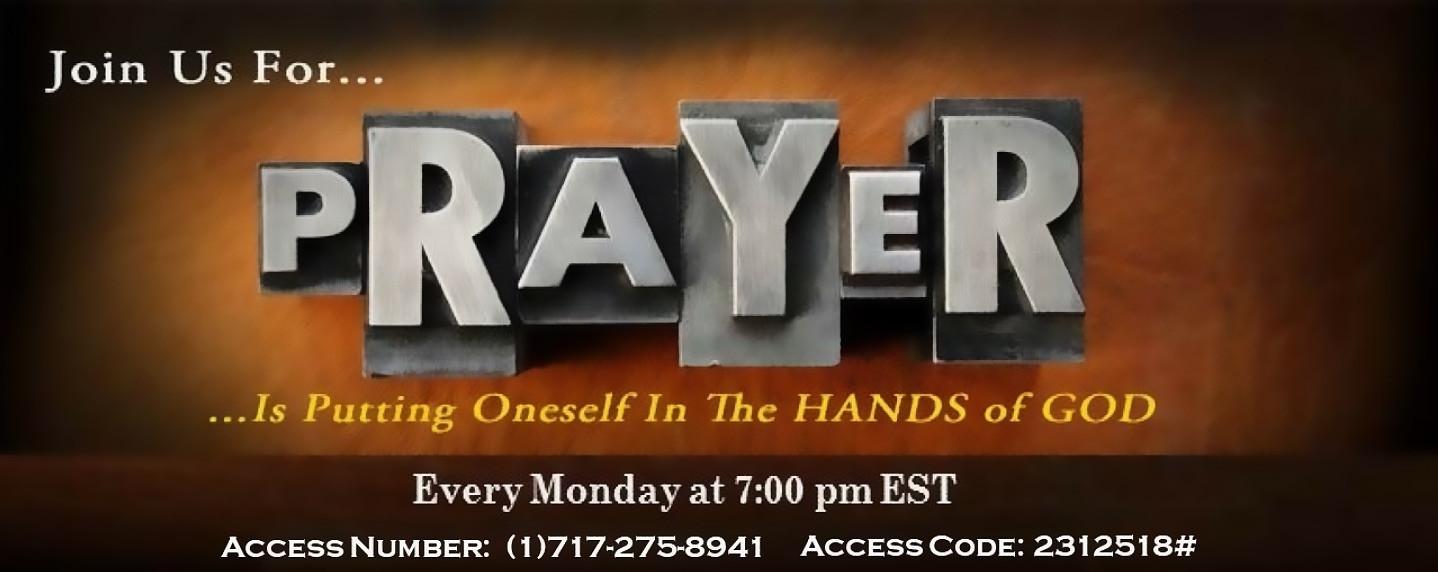 Prayer Banner