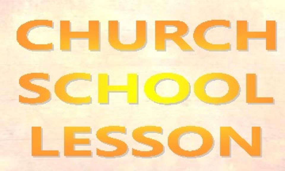 Church School - September